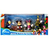 Beverly Hills Teddy Bear Company Disney Mickey and Friends Toy Figure Playset  4 Pieces