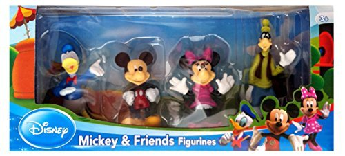 Mickey Mouse - 4 Pack (Teddy Mickey Maus)