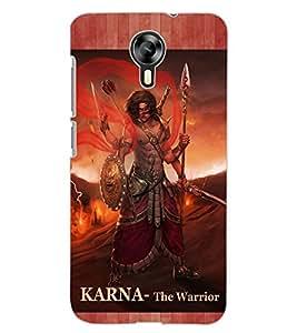 ColourCraft Suryaputra Karna Design Back Case Cover for MICROMAX CANVAS XPRESS 2 E313