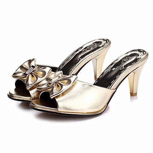 ZYUSHIZ Die neuen Sandalen koreanische Version Sommer Weiblich 36EU