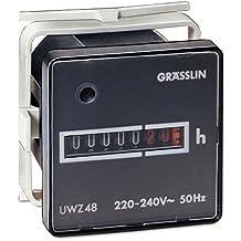 CH tensión 220V 50Hz; tensión Contador de horas de corriente alterna