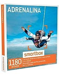 SMARTBOX - Cofanetto Regalo - ADRENALINA - Paracadute, guida sportiva, parapendio…