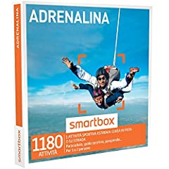 Idea Regalo - SMARTBOX - Cofanetto Regalo - ADRENALINA - 1180 esperienze adrenaliniche