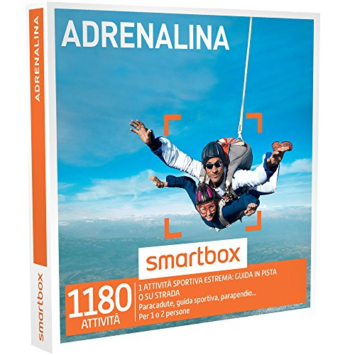 Smartbox - cofanetto regalo - adrenalina - 1180 esperienze adrenaliniche