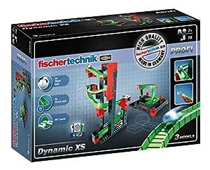 Fischertechnik Dynamic XS - Juego Educativo y Divertido de Construcción de Circuitos de Canicas, 70 Piezas