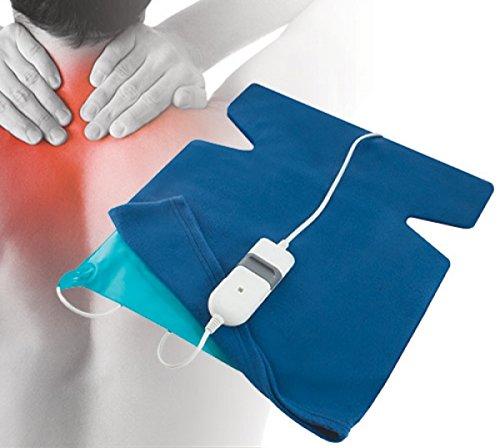 Latherm ACE-135 Almohadilla Cervical Electrica Ayuda a aliviar dolores cervicales de cuello y espalda...