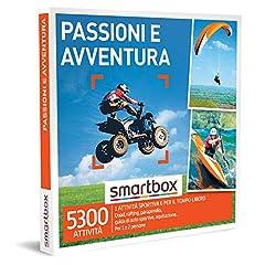Idea Regalo - SMARTBOX - Cofanetto regalo per uomo o donna - idee regalo originale - Esperienze a scelta tra sport acquatici, attività di guida o di volo