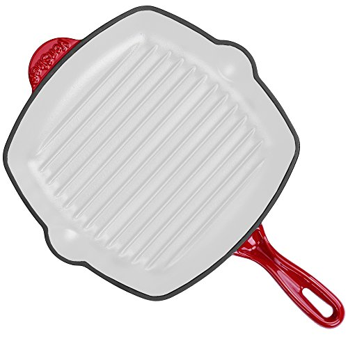 vonshef-26cm-cast-iron-square-griddle-pan-suitable-for-all-hob-types-including-induction