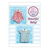 Kwik Sew Mustern k0214os Baby Strampler/Kleid und Höschen, Größen XS–X-Large