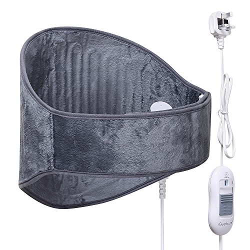iguerburn-waist-abdomen-back-hip-electric-heating-pad-with-velcro-straps-100w-55x29cm-grey-for-lower