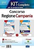 Concorso Regione Campania. Kit completo per la preparazione: Teoria e test sulle materie professionali-Nuovi test attitudinali RIPAM per la preselezione. Con software di simulazione