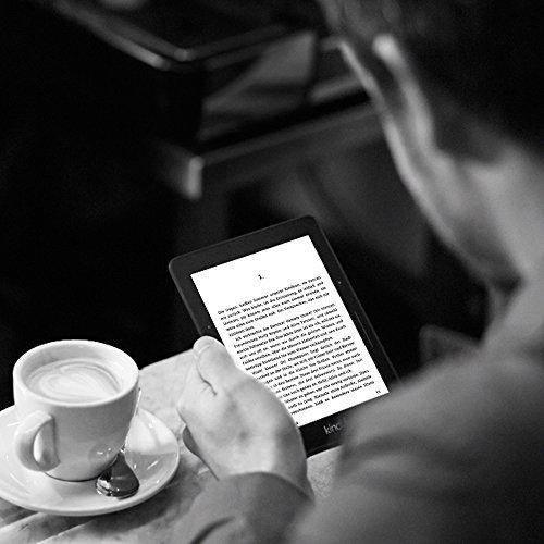 Kindle Voyage eReader, 15,2 cm (6 Zoll) hochauflösendes Display (300 ppi) mit integriertem intelligenten Frontlicht, PagePress-Sensoren, WLAN - 6