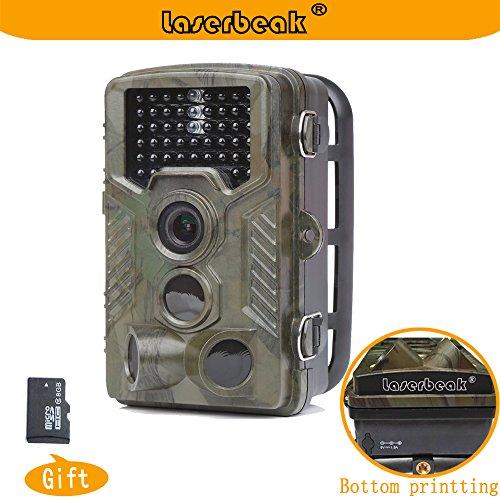 laserbeak-trail-camera-24-inch-lcd-12-mp-1080p-hd-120-degree-pir-lens-ip56-waterproof-20m-triggering