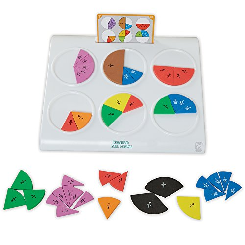 Learning Resources - Torta puzzle per imparare le (2 Torta Way)