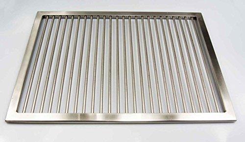 Grillrost aus Edelstahl nach Maß - Umfang: 1 - 340 cm, Rost nach Maßanfertigung, Grill nach Wunsch, Gasgrill, Grillkamin,V2A, (181 - 200 cm)