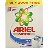 Ariel Matic Top Load Detergent Washing Powder - 1 kg with Free - 200 g