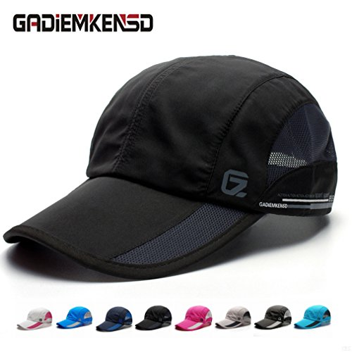gadiemkensd-quick-dry-sports-hat-lightweight-breathable-soft-outdoor-run-cap-classic-up-black