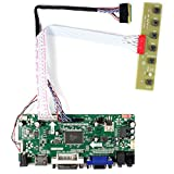 HDMI + VGA + DVI + Tarjeta de control de LCD de entrada de audio para LP156WH2 LP156WH4 15.6 '1366x768 LED Backlight 40Pin LCD Panel