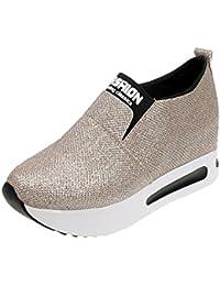 e5af57ec4e659 Amazon.it  sneakers zeppa - Oro  Scarpe e borse