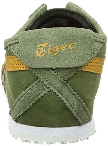 Onitsuka Tiger Mexico 66, Scarpe da Ginnastica Unisex – Adulto Verde (Chive/Tan)