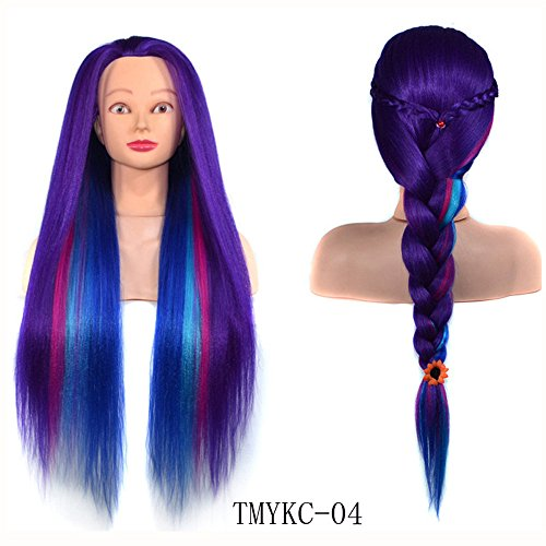 Bluestercool Frauen Mädchen Prinzessin Lange Perücke Haar: Länge ≈60cm * Kopf ≈28 * 20 * ()