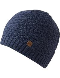 schöne sportlich elegante Mütze KASIM für Herren mit Fleece innen