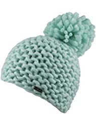 Chillouts Ina Hat Strickmütze Mint grün schwarz