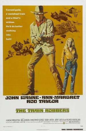 The Train Robbers - John Wayne - Movie Wall Art Poster Print - 43cm x 61cm / 17 Inches x 24 Inches A2