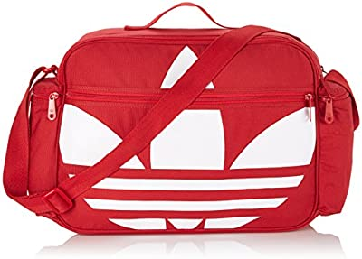 adidas Tasche Airliner Canvas - Mochila, color multicolor (power red), talla 44 x 29 x 10 cm, 14 l