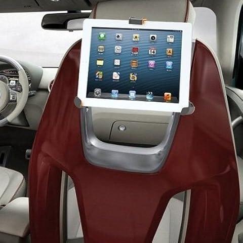 IBRA soporte para tablet con adaptador para reposacabezas de coche | Compatible con Ipad, PC, Samsung Galaxy y otras tabletas de 8.9 - 10.4