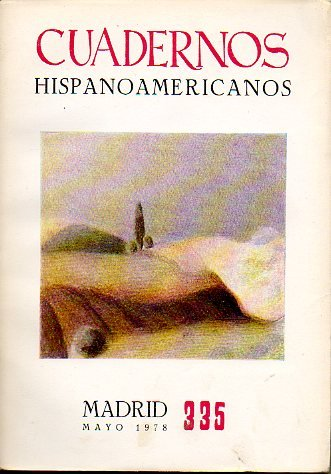 CUADERNOS HISPANOAMERICANOS. Revista mensual de cultura hispánica. Nº 335.