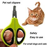 Professional Nail Clippers for Small Animals: Dog, Cat, Rabbit, Bird, Puppy, Kitten - Claw Clipper Trimmer Scissor for… 11