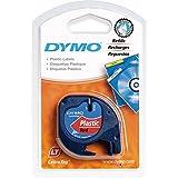 DYMO 12mm LetraTAG Plastic tape - Cintas para impresoras de etiquetas (Poliéster, Bélgica, 28 (tbc), Ampolla)