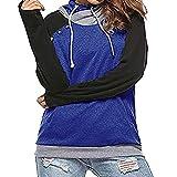 TWIFER 2018 Herbst Langarm Hoodie Pullover Button Top Kapuzenpullover Sweatshirt