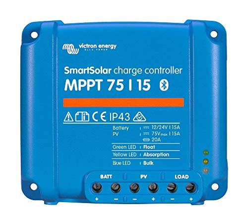 Victron Smartsolar MPPT Laderegler 75/15 15Amper 12V oder 24V inklusiv Bluetooth