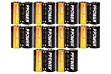 PPOWER CR123A Lithium 3V Photo Batteries with Battery Storage Box, 4-20 Pack 1600mAh CR123A Batteries for Arlo Cameras, Polaroid, Microphones, Flashlight, Non-Rechargeable (20pcs)