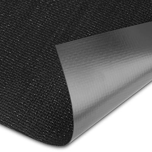 ORGA-TEX Antirutschmatte 473 x 825 x 1,1 mm (zuschneidbar) schwarz passgenau für Blum Legrabox mit 900 mm Korpusbreite und 16 mm Seitenwand Schubladeneinlage von SO-TECH®