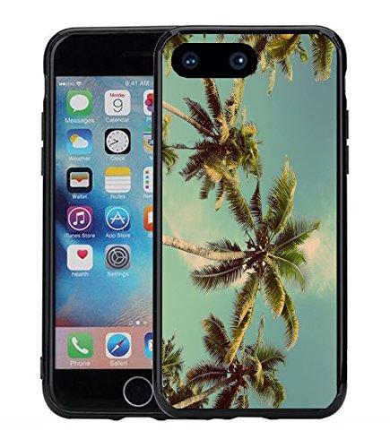 Palmen, mit Vintage Filter für iPhone 7Plus (2016) & iPhone 8Plus (2017) (5,5) Schutzhülle von Atomic Markt
