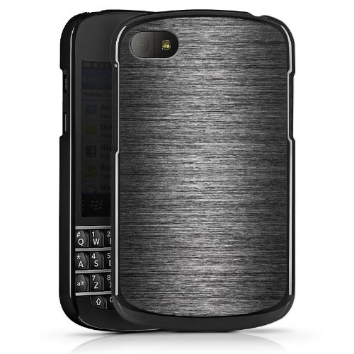 DeinDesign Blackberry Q10 Hülle Case Handyhülle Metal Metall Erscheinungsbild