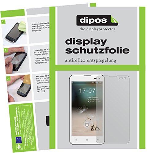 dipos I 6X Schutzfolie matt passend für Hisense HS-U971AE Folie Bildschirmschutzfolie