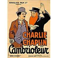 posterlounge holzbild 100 x 130 cm charlie chaplins filmplakat von artothek