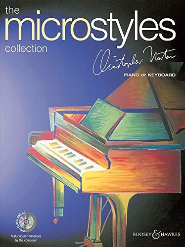 The Microstyles Collection: Klavier. Ausgabe mit CD. - Fax-kassette