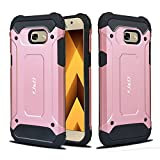 J&D Compatible pour Coque Samsung Galaxy A5 (2017 Version), [ArmorBox] [Double...