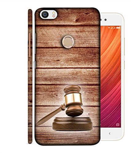 Fusion Designer Back Case Cover for Xiaomi Redmi Y1 (Note 5A) (Beige Judge Magistrate Supreme high Session Court Jail Pinterest)