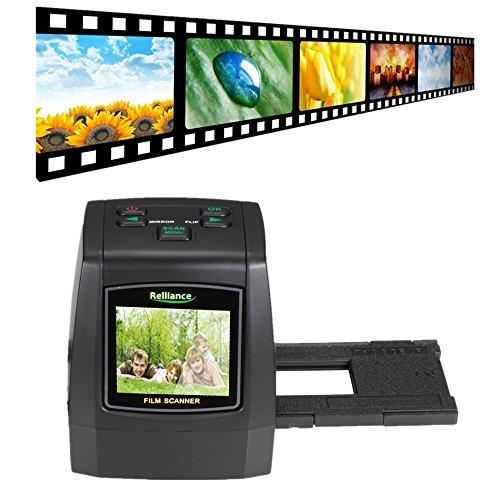 Film Scanner, TechCode Film Slide VIEWER Scanner 14.0 Megapixel Negativfilm Folie VIEWER Scanner USB Digital Farbkopierer (32G SD Karte (SMYC018))