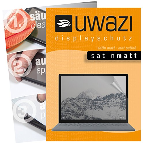 Microsoft Surface Laptop Schutzfolie 3x uwazi satin-matt Displayschutzfolie Folie