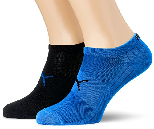 Puma Herren Socken PERFORMANCE TRAIN LIGHT SNEAKER 2P, blue/black, 39-42, 271003001
