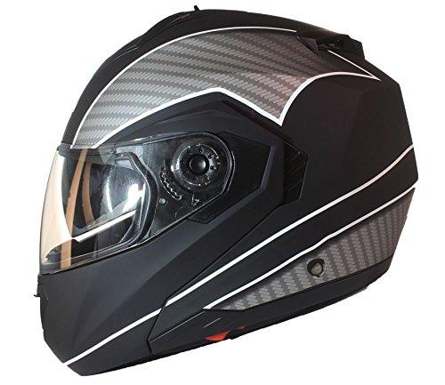 casco-modulare-per-moto-con-integrale-doppia-visiera-nero-opaco-con-bianco-s-55-56cm