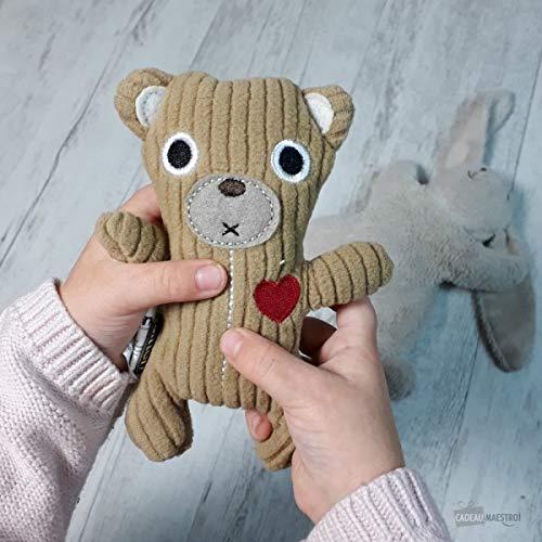 Mini bouillotte ours pour les poches - Cadeau Maestro