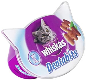 Whiskas Dentabites Cat Treat 50g
